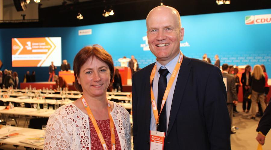 Bianca Winkelmann MdL und Ralph Brinkhaus MdB.