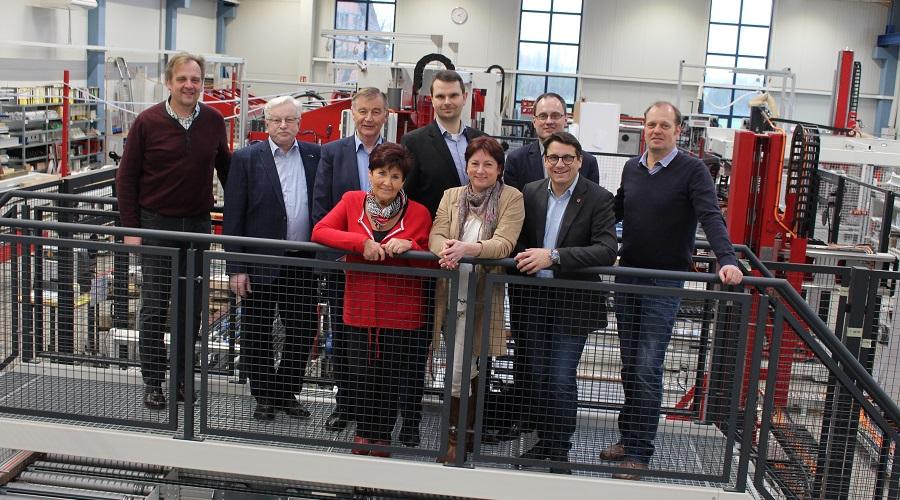 Noch vor der Corona-Pandemie hat eine Delegation der CDU um die heimische Landtagsabgeordnete Bianca Winkelmann die Firma Prieß und Horstmann besucht.