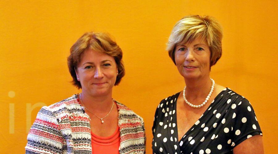 Bianca Winkelmann und Kirstin Korte freuen sich über die Entscheidung für Hüllhorst.