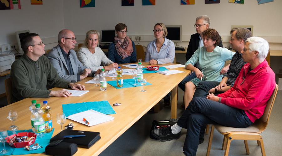 Bianca Winkelmann MdL besuchte das IKG in Bad Oeynhausen.